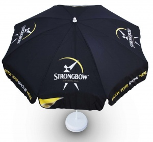 Strongbow Pub Beer Garden Parasol Umbrella